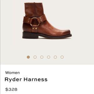 Frye Ryder Harness Bootie